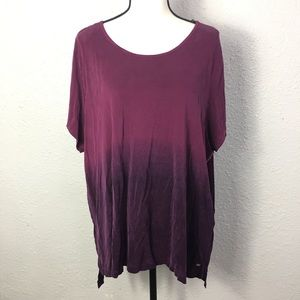 Tommy Hilfiger purple blend top